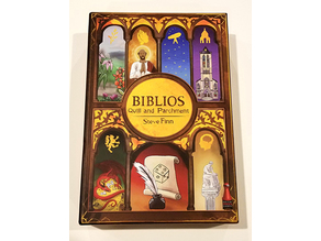 Biblios: Quill and Parchment Insert/Dice Tower