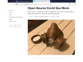 Easy COVID-19 Respirator Mask