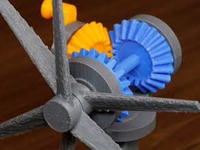 Contra-rotating Propeller Model
