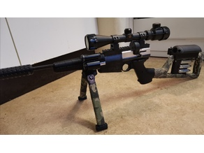 Bipod for carbine w 22mm picatinny Update!