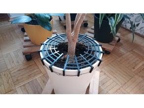 Flower pot cat protection v2.0