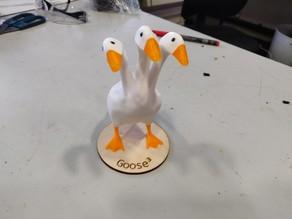 3 Headed Hydra Goose