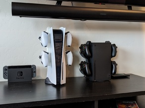 PS5 / Xbox Series X controller hanger