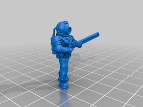 28mm Sci Fi Space Miner Auxilary