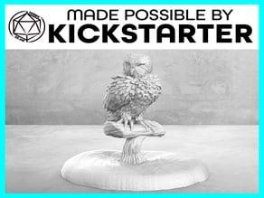 Owl - Casual Pose - Tabletop Miniature