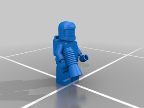Lego Space Man by Retromatti.com