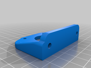 extruder mount for 2020 extrusion (flsun cube)