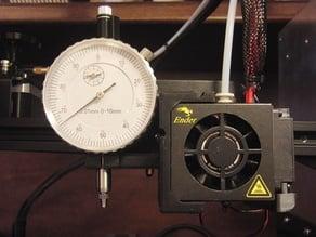 Dial gauge holder for Ender 3 (v2)