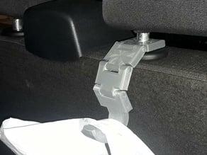 Car seat rest hook