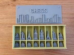 Architecture Chess Set