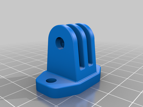 Gopro camera screw mount