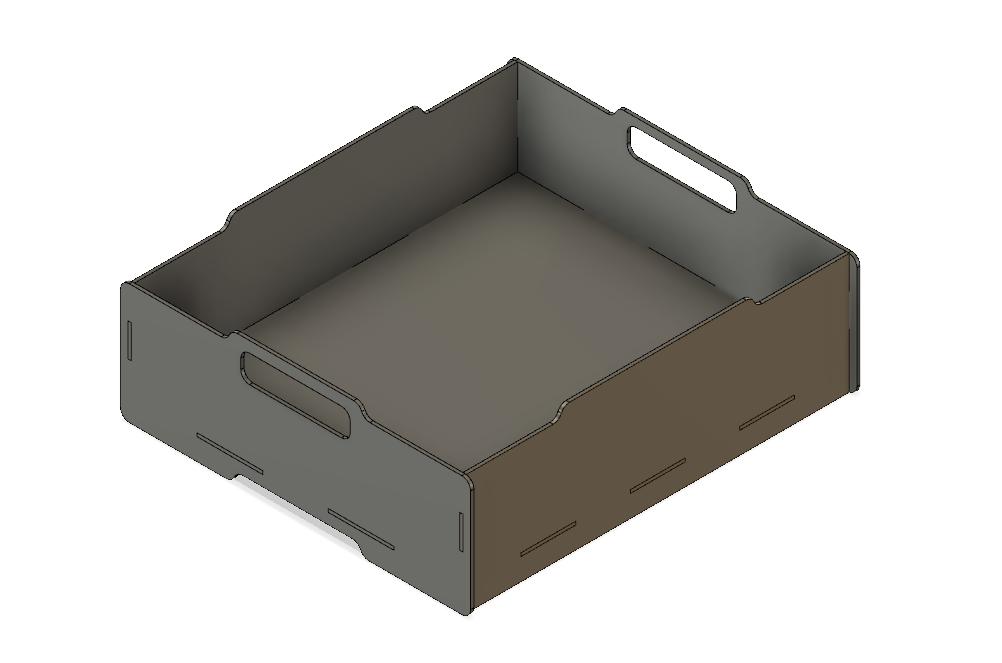 Lasercut Stackable Box