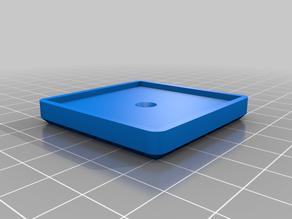 Printer vibration damper holder