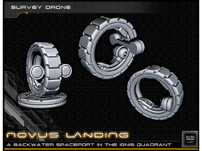 Survey Drone - 28-32mm Gaming - Novus Landing