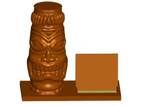 Tiki Business Card Holder (Expandable)