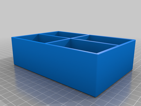 Simple 4 section box
