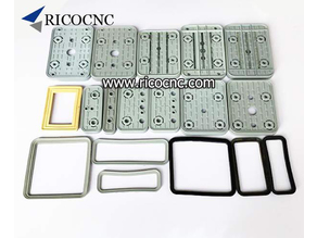 Replacement Rubber Suction Plates Gaskets Pads Cover  for CNC Vacuum Pods