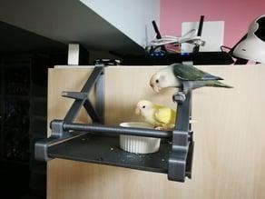 Bird Perch (hook on wardrobe door)
