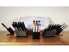 Pen And Marker Organizer