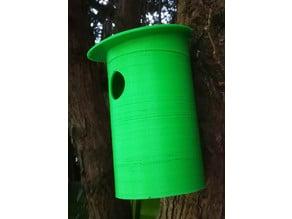 UK Blue Tit Nesting Box, compact