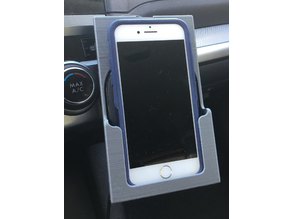 iPhone Holder with Wireless Charging