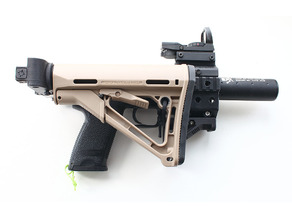Carbine kit (with M4 stock and folding) for Airsoft hundgun