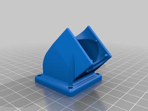 Fan Support 40x40mm E3DV6 (Maker Parts)