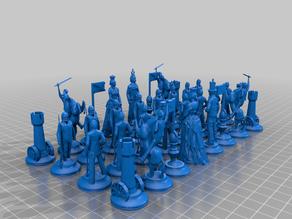 Civil War Chess Set (NEW)