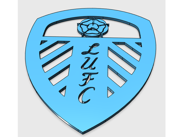 Leeds United Badge By S4snow Thingiverse