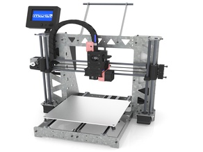 3DSteel - P3Steel Version with TMC2130 SPI, Marlin 2, Bed leveling, and HTA3D v2 extruder