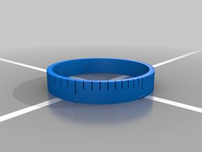 Slide Rule Bracelet