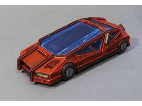 Cyberpunk car 2