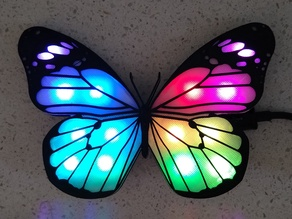 Neopixel Butterfly