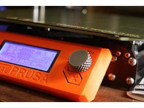 Prusa display control knob (knurled surface)