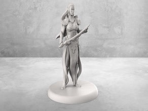 Elven Blademaster - Tabletop Miniature