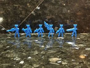 Aquatic Aliens (Meeples)