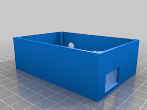 Arduino Uno and motor shield case/clamp