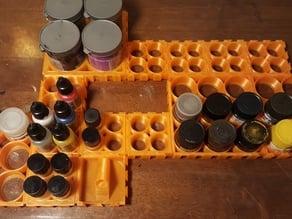 Airbrush organizing