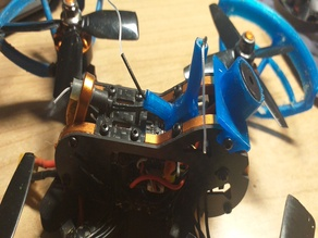 Tyro 79 racer antenna support