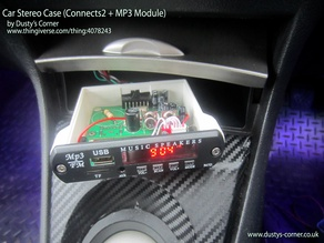 Car Stereo Case (Connects2 + MP3 Module)