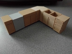 Kitchen Cabinet Series - Base Corner