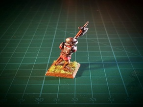 Halberdier 28mm (NO SUPPORTS)