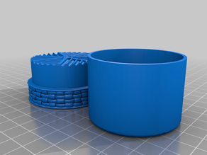 Single Print Grinder with Weave