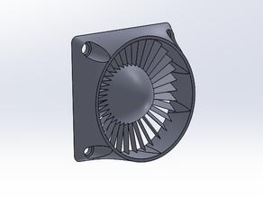 40mm Fan Inlet - Simple Turbine (Small)