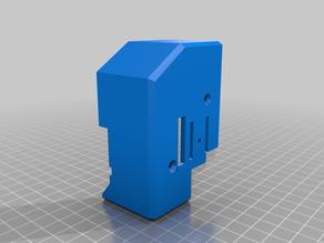 Sidewinder X1 minimalist extruder cover