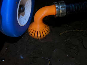 Garden Hose Siphon Attachment with Integrated Filter
