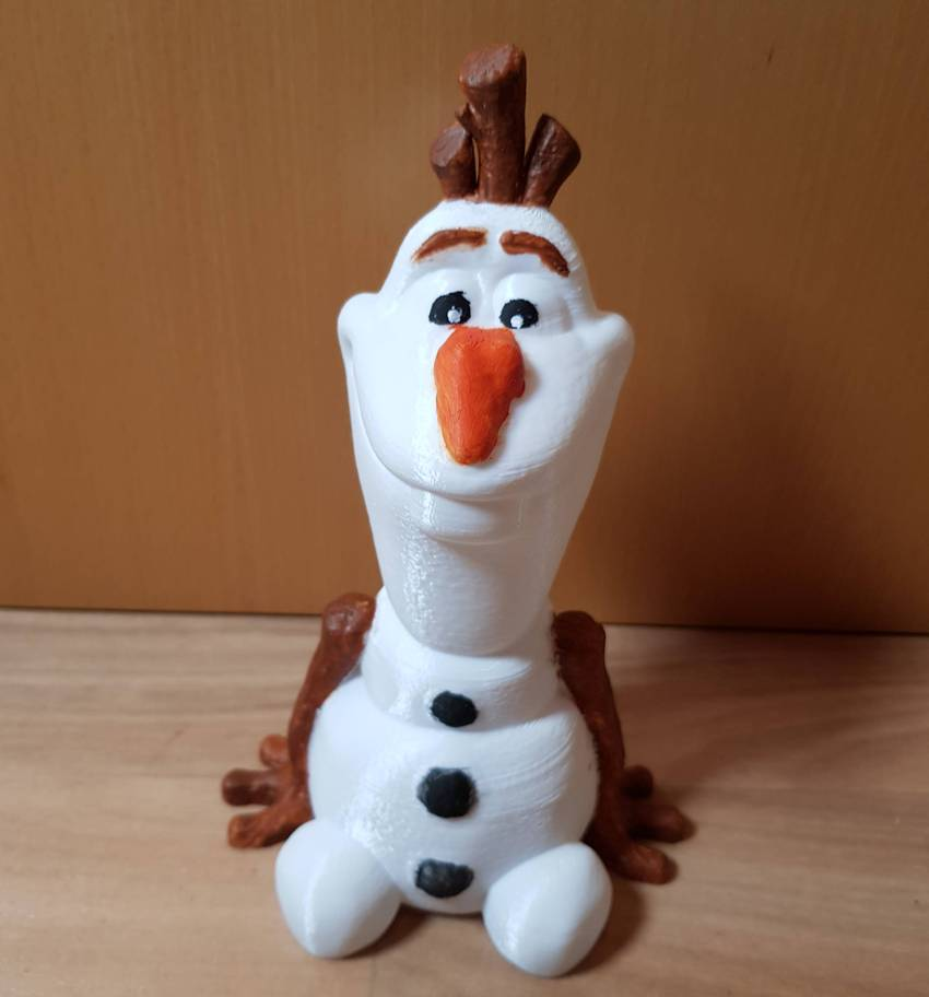 Olaf (Easy print no support) - hollow
