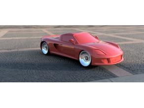 Carrera GT For Open Z Drift V5  98mm wheelbase.