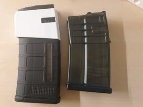 Magazine adapter HK417 to PMAG