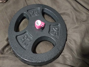 20mm Equatorial Gym Weight Adapter